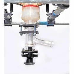 Borosilicate Glass Medium Pressure Bottom Flush Valve, For Industrial
