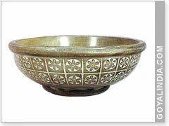 Wood Engraved Bowl