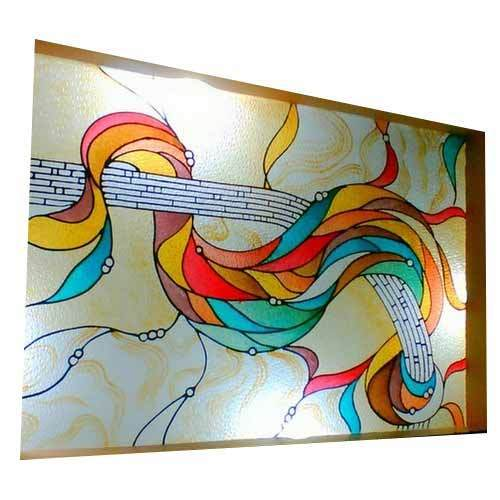Glass Designs For Walls bathroom decorating with stained glass artwork Ceiling Glass Design Walls