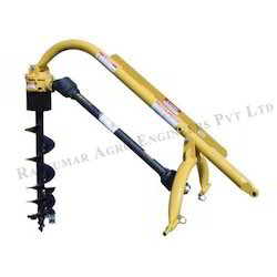 Tractor Model Single Post Hole Digger