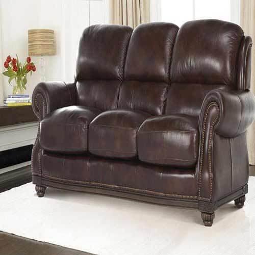 Harewood New Leather Sofa, Leather Furniture Florida