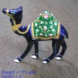 Meenakari Camel Statue