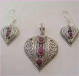 Ruby Silver Jewellery