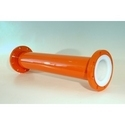 PTFE Lined Pipe Section