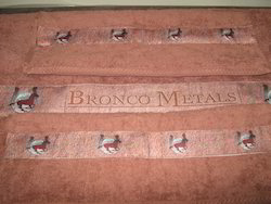 Towels With Corporate Names And Logos