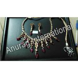 Wedding Wear Anurag International Kundan Necklace Sets