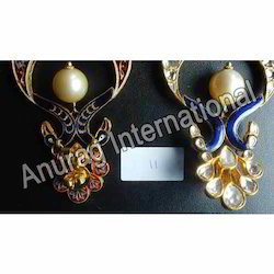 Anniversary Kundan Earrings