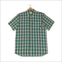 Half Sleeves Checked Shirt