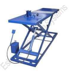 Two Wheeler Table Foot Pump