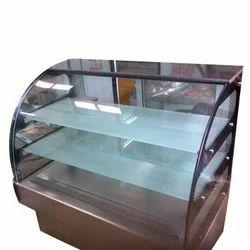 Round Glass Counter