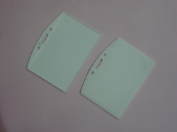 LC One Side Sticky Eco Horizontal Plastic ID Card Holder CH 22