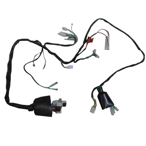 wiring harness 500x500 wiring harness manufacturer from faridabad tvs star city wiring diagram at webbmarketing.co