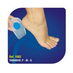 Silicone Heel Cups with Blue Point