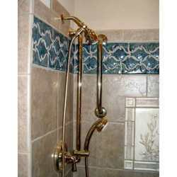 Plain Bathroom Tiles