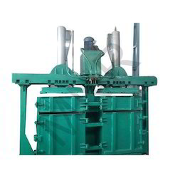 Semi Automatic Pet Bottle Baling Press Machine