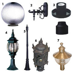Outdoor Gatelights And Pole Lights Ok Lamps Delhi Id