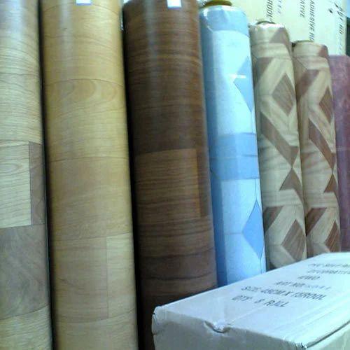 Plain Multicolor PVC Floor Carpets