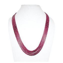 Dyed Ruby Faceted Beads