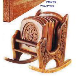 Chair And Wheel Coaster