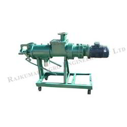Cow Dung Dewatering Screw Press Machine