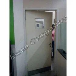 Interior Exterior Indoor Rectangular FRP Door & Door Frame, For Home