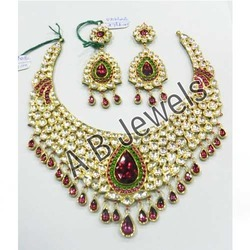 Kundan Bridal Gold Necklace