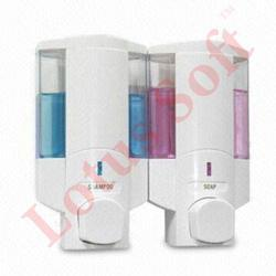 Double Manual Soap Dispenser
