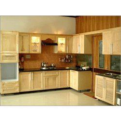 Modular Kitchen Wood Colors Feed Kitchens