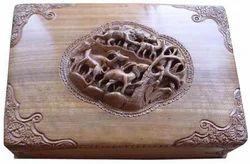 Carved Jewelry Box