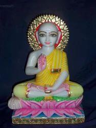 Gautam Buddha Marble Statue