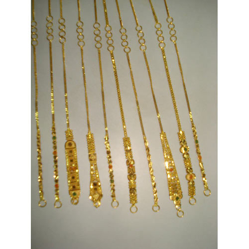 Gold Kan Chain at Rs 8000 1 pair Gold Chains