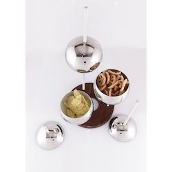 Table Art Serving Bowls Set Of 3