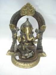 Ganesh Ji Ring Brass