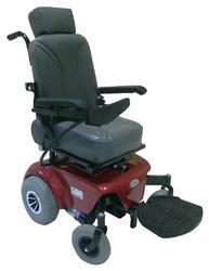 Powered Deluxe Pediatric Wheelchair