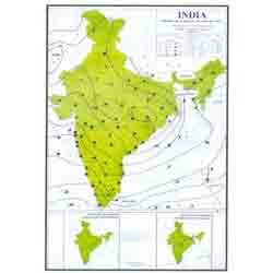 Latest India Map.Weather Maps Of India Latest Editions Bep Edu World Pune Id