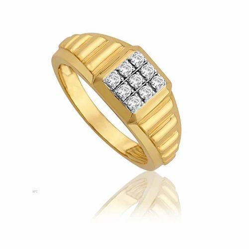 Diamond Rings Avsar Real Gold And Diamond Rolex Look