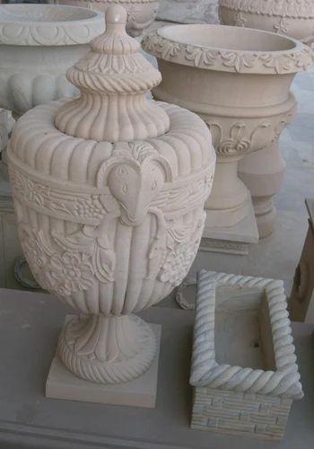 Stone Flower Pot, 15-20 Mm