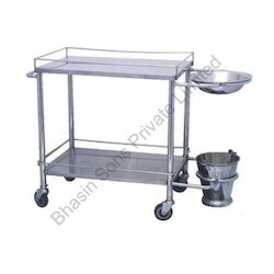 Folding Type Dressing Trolley