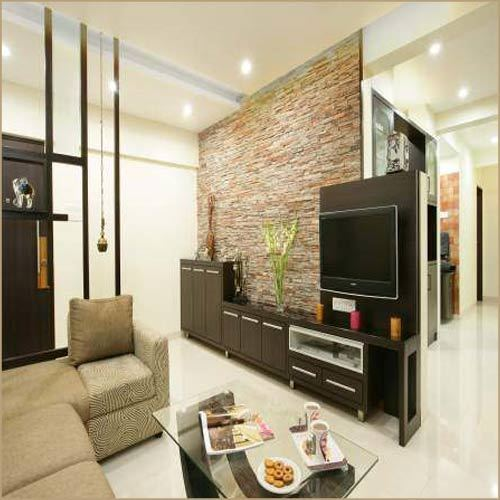 Flats Drawing Room Designing Interior Design Nilesh Bakale