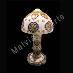 Victorian Designed Marble Lamps