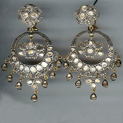 Chand Bali Victorian Earring - View Specifications & Details