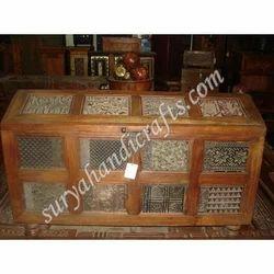 Wooden Jali Box