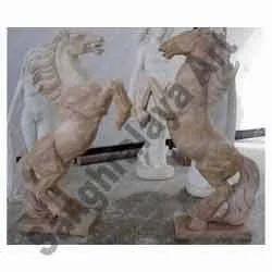Marble Handicraft Horse Statue