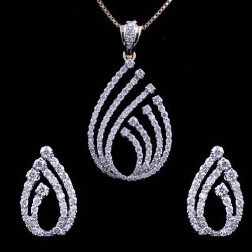 Diamond pendant sets diamond pendants jawahar nagar jaipur diamond pendant sets audiocablefo