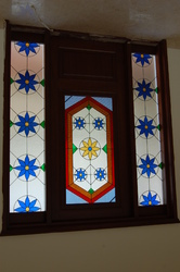 Stained Glass Sidelights And Door
