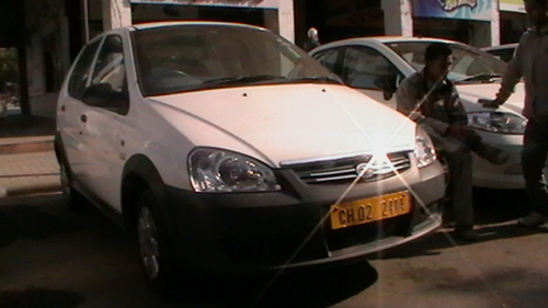 Tata Indica For Rent Luxury Car Rental Nanuan Travels Chandigarh