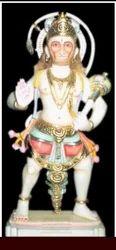 Lord Hanuman In Standing Posture