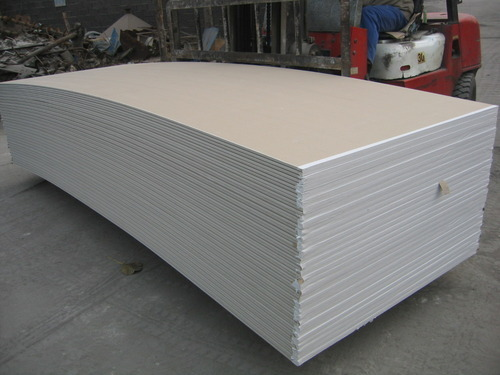 Gypsum Board, जिप्सम का बोर्ड, Building Panels