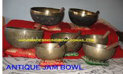 Antique Jam  Singing Bowl