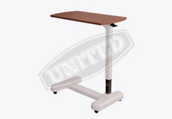 Over bed table (Adjustable by Pnumatic Gas Spring )